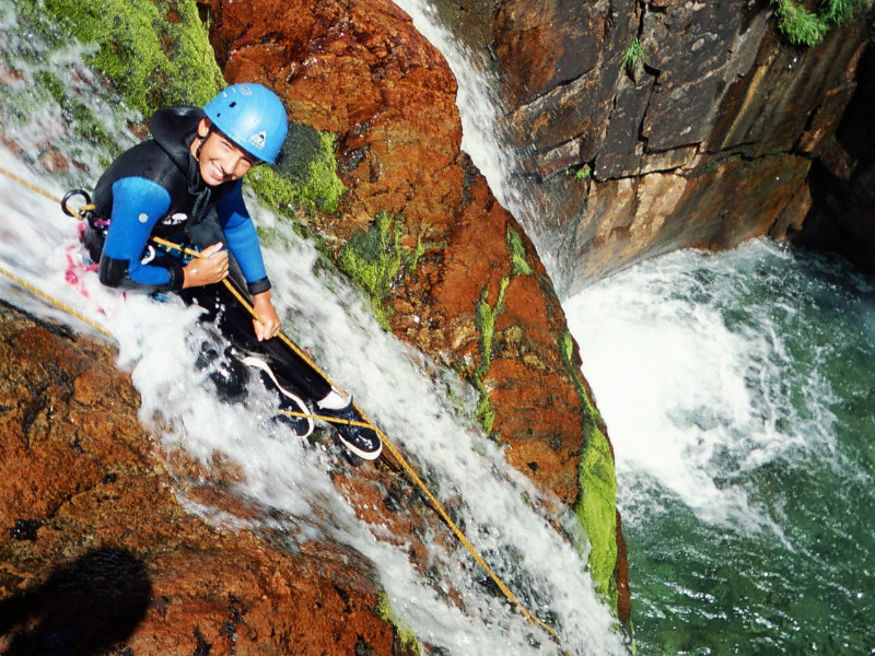 artigue-canyoning
