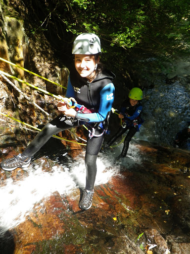 Half day canyoning in family!