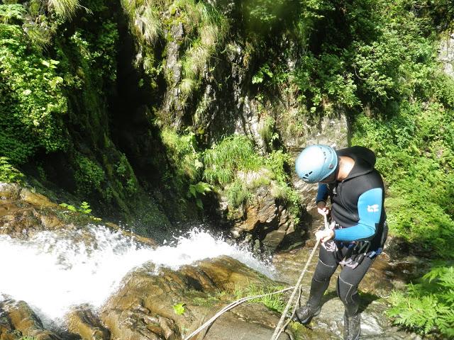 Canyon sauvage et technique de Subra