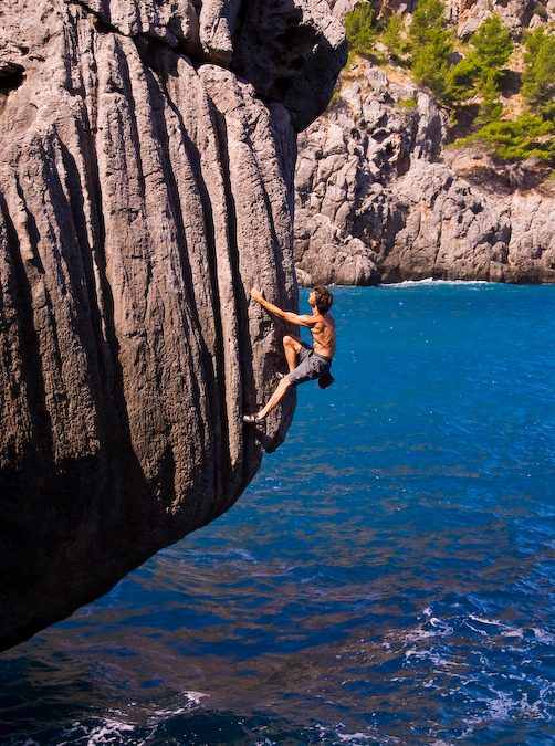 Escalade et voilier à Majorque